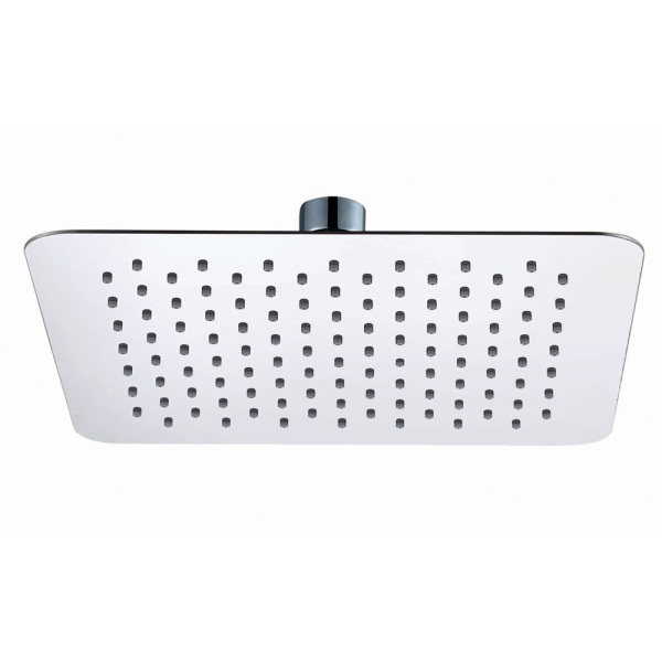 Ultra Slim Air Induction Shower Head Square 250mm