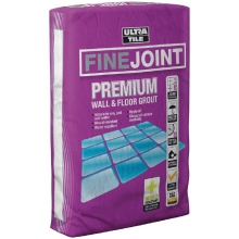 Ultra Tile 3kg 1-12mm Fine Joint Grout White