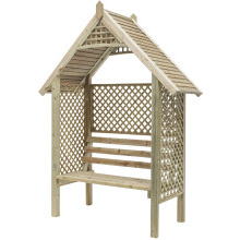 Valencia Wooden Arbour 2350x1739x684mm