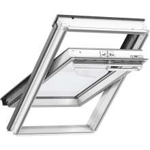 Velux Centre Pivot Roof Window White Painted 134 x 98cm GGL UK04 2070