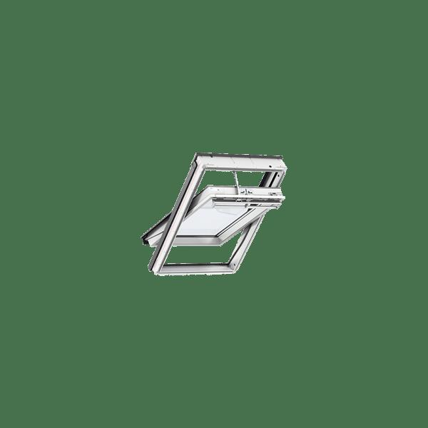 velux integra electric ggl ck04 207021u roof window white painted 550 x 980cm buildbase. Black Bedroom Furniture Sets. Home Design Ideas