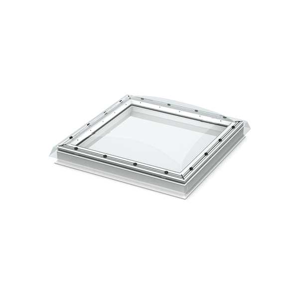 VELUX ISD 100100 0010A Flat Roof Window Clear Polycarb Dome 1000 x 1000cm