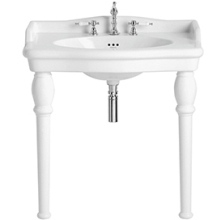 Victoria Single Console Basin 3 Taphole