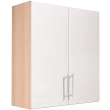 Vio Double Door Wall Unit 600 x 175 x 660mm Core Cashmere Gloss Drift