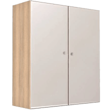 Vio Double Mirror Cabinet Soft White 600 x 175 x 660mm