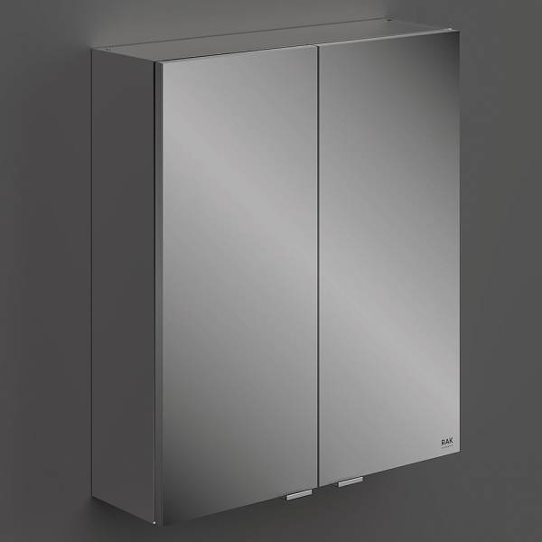 Wall Hung Mirror Cabinet 2Door 60cm