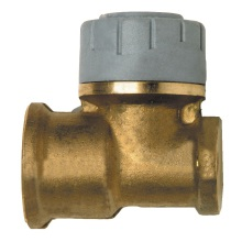 Wallplate Elbow Brass 15mmx1/2inch