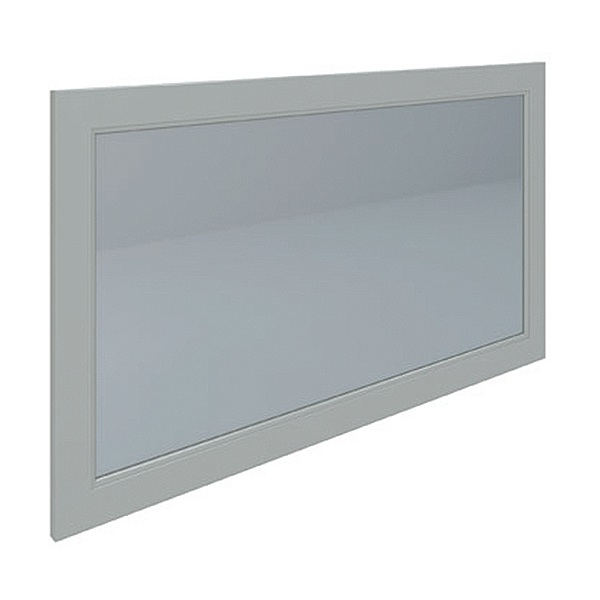 Washington Flat Mirror 1200mm 1185x650 Greige