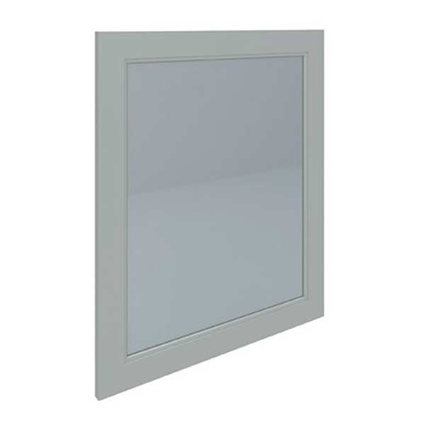 Washington Flat Mirror 600mm 585x650 Greige