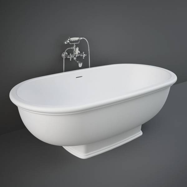 Washington Freestanding Bath Tub White