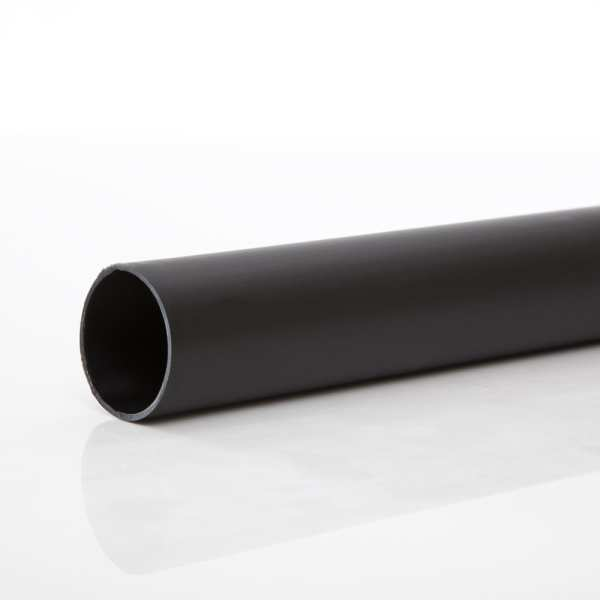 Waste 3m Pipe Black 50mm