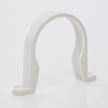 Waste ABS Pipe Clip White 50mm