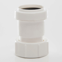 Waste BSP Female Threaded Coupling White 32mm