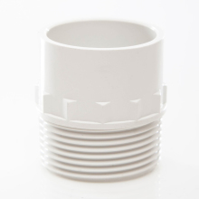 Waste Male Iron Adaptor White 32mm