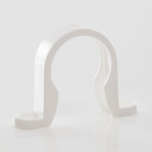 Waste Pipe Clip White 32mm