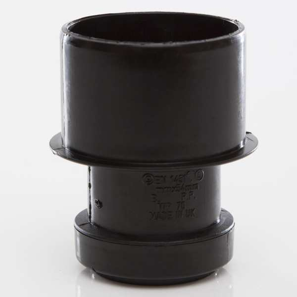 Waste Pipe Reducer Black 50x32mm