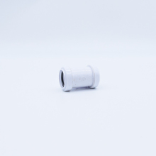 Waste Straight Coupler White 32mm