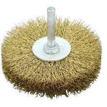 Wheel Brush with Spindle 50x6mm