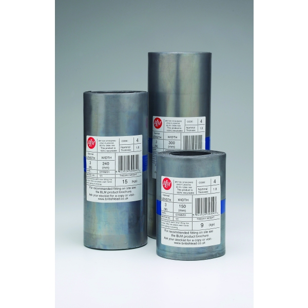 Wide Code 4 Roll Lead (Blue Label) 390mm Wide Code 4 6mtr