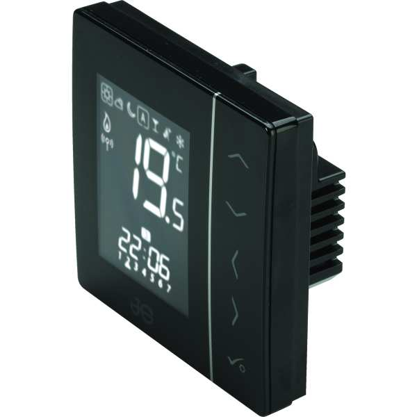 Wireless Thermostat Black 230V