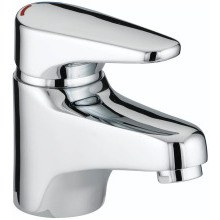 Bristan Jute Basin Mixer 105mm Chrome (without waste)