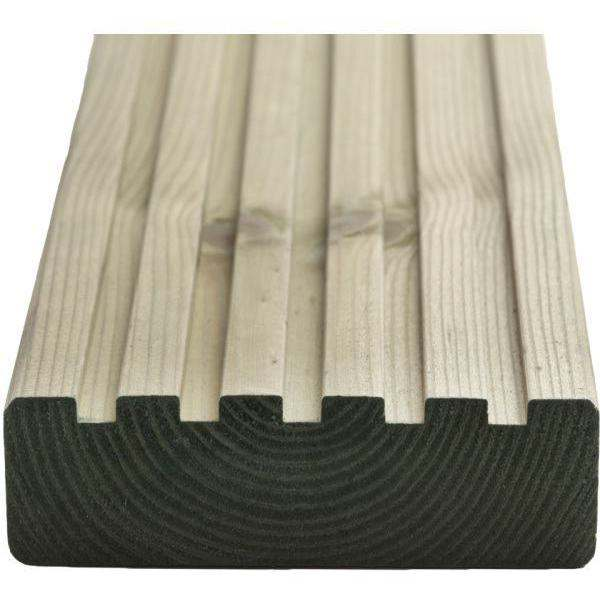 Q-Deck York Style Decking 33 x 120mm x 3.6m