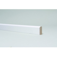 MDF Primed Round 1 Edge Architrave 18 x 44mm x 5.4m