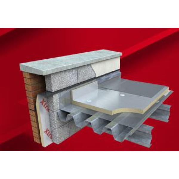 Xtratherm Flat Roof Insulation Fr Alu 2400 X 1200 X 100mm