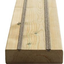 York Slip Resistant Decking Board 33x120mm